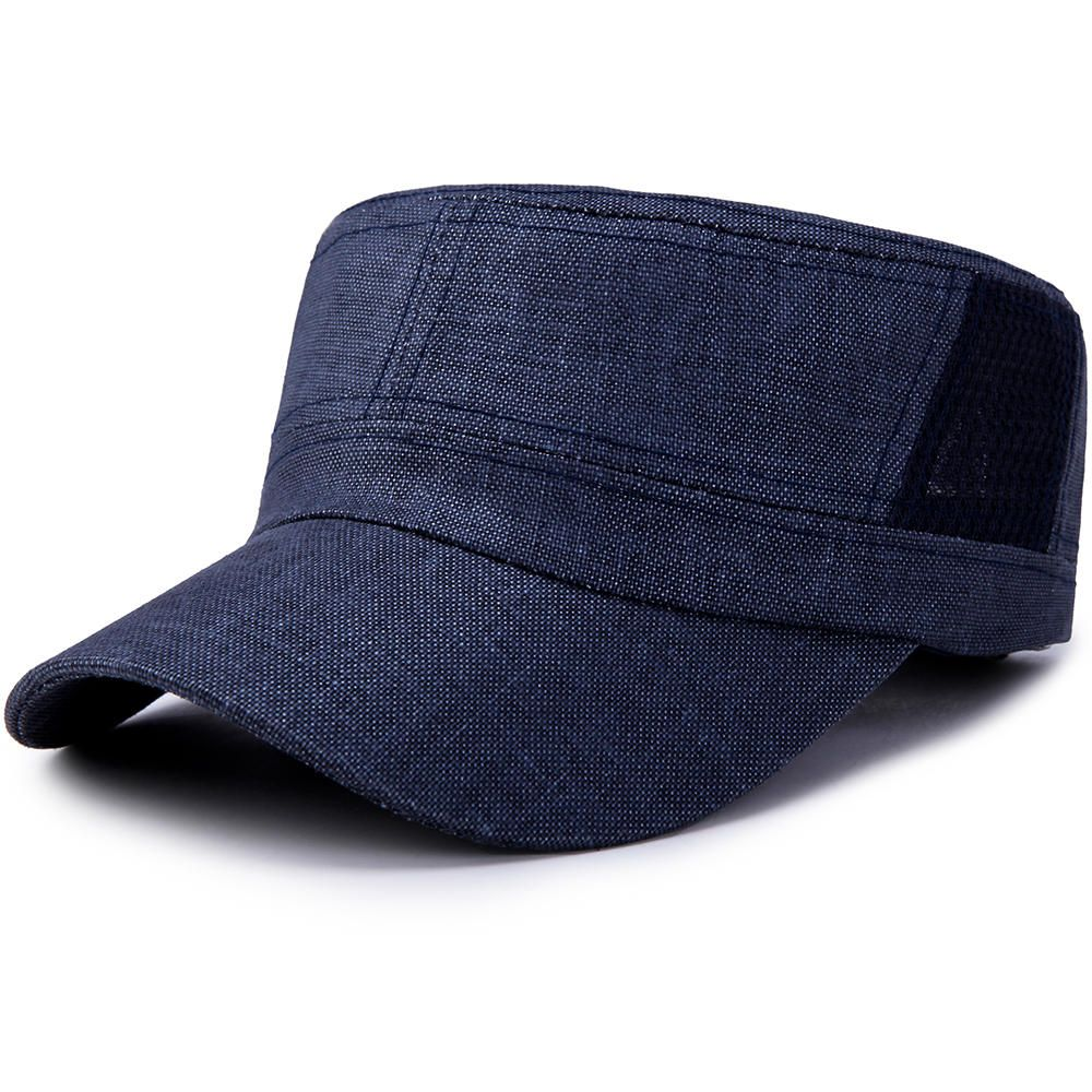 f53a3a9968a Only US 8.84 shop men women outdoor casual cotton mesh flat hat at Banggood.com.  Buy fashion hats   caps online. - Banggood Mobile
