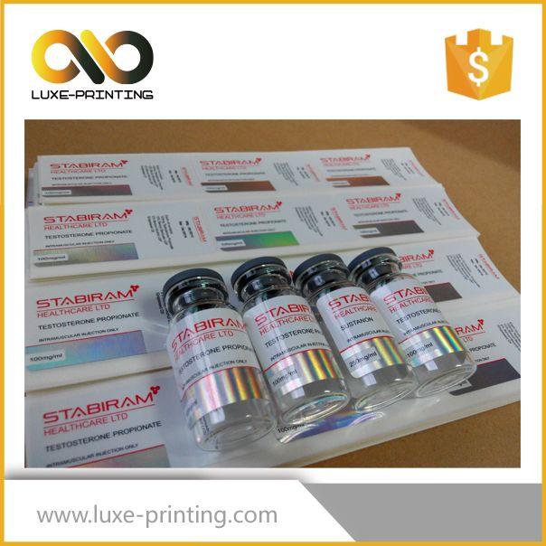 2017 Printing Self Adhesive Custom 10ml Vial Labels For Anabolic Steroids Prints Adhesive Custom