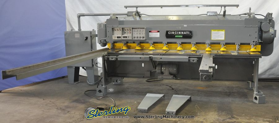 Used Cincinnati Power Shear Sterling Machinery Hydraulic Press Brake Milling Machine Press Brake