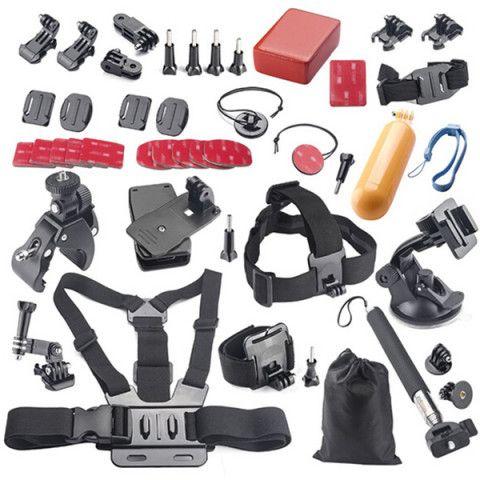 44 in 1 Accessories kit for Gopro Hero 4 accessories pack Hero 3+/3/2/1 Xiaomi yi SJ4000 SJ5000