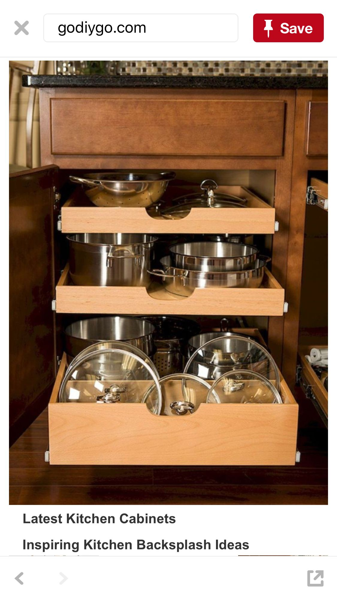 smart kitchen cabinet organization ideas