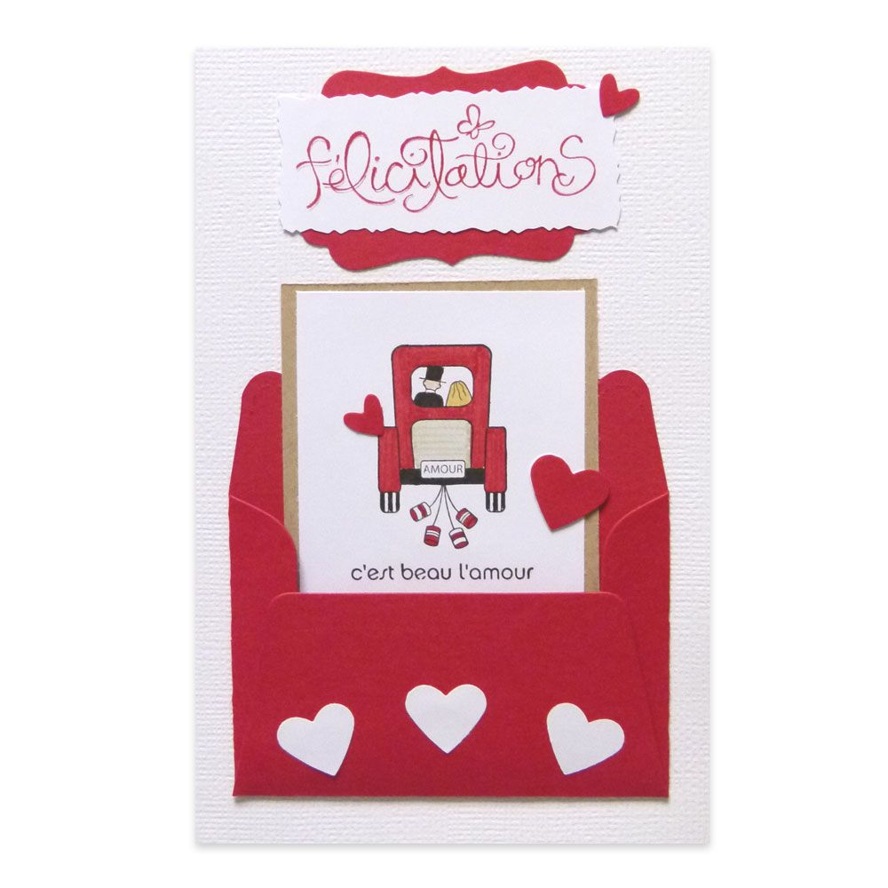 1000 images about cartes flicitations mariage on pinterest - Carte Felicitations Mariage