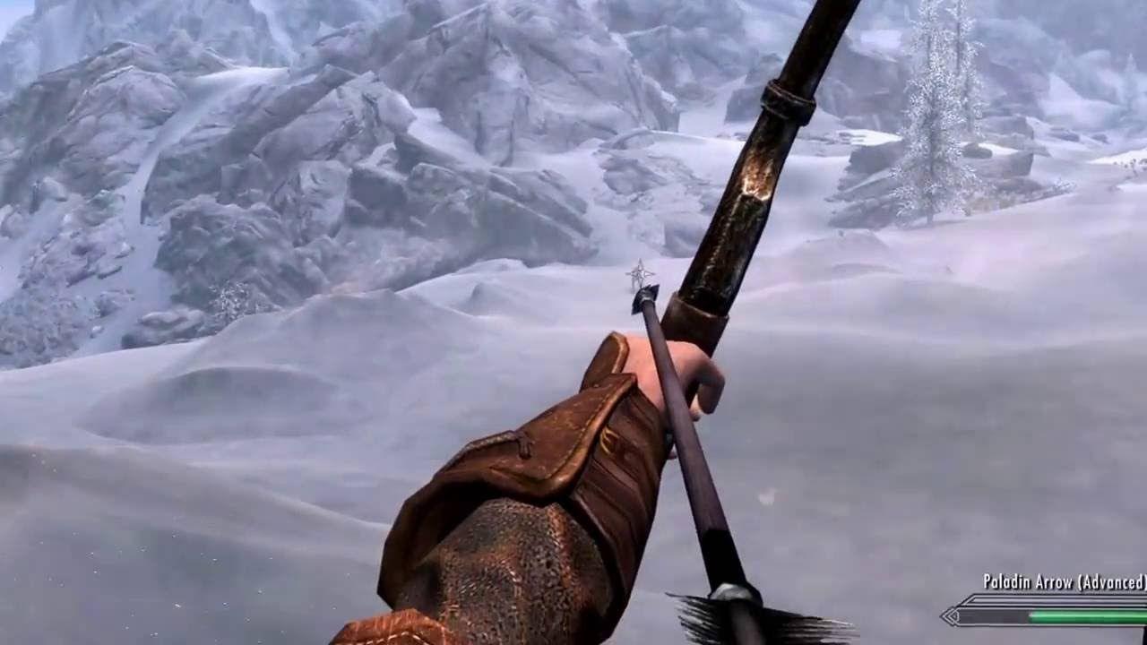 Paladin arrow vs stalking wolf near Winterhold #games #Skyrim #elderscrolls #BE3 #gaming #videogames #Concours #NGC