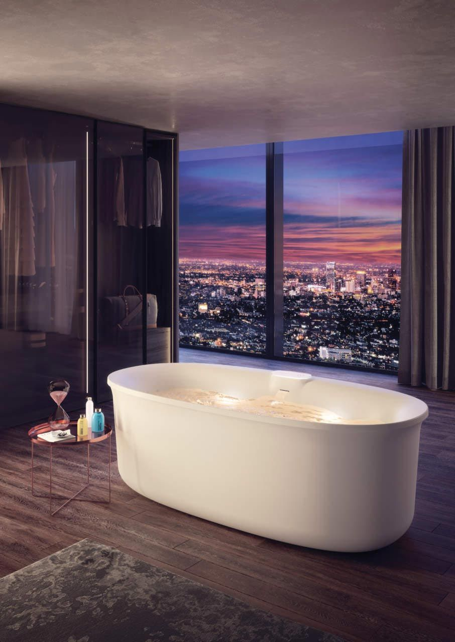 Arga By Jacuzzi A Revolution In The World Of Wellness Free Standing Bath Tub Jacuzzi Bathtub Design
