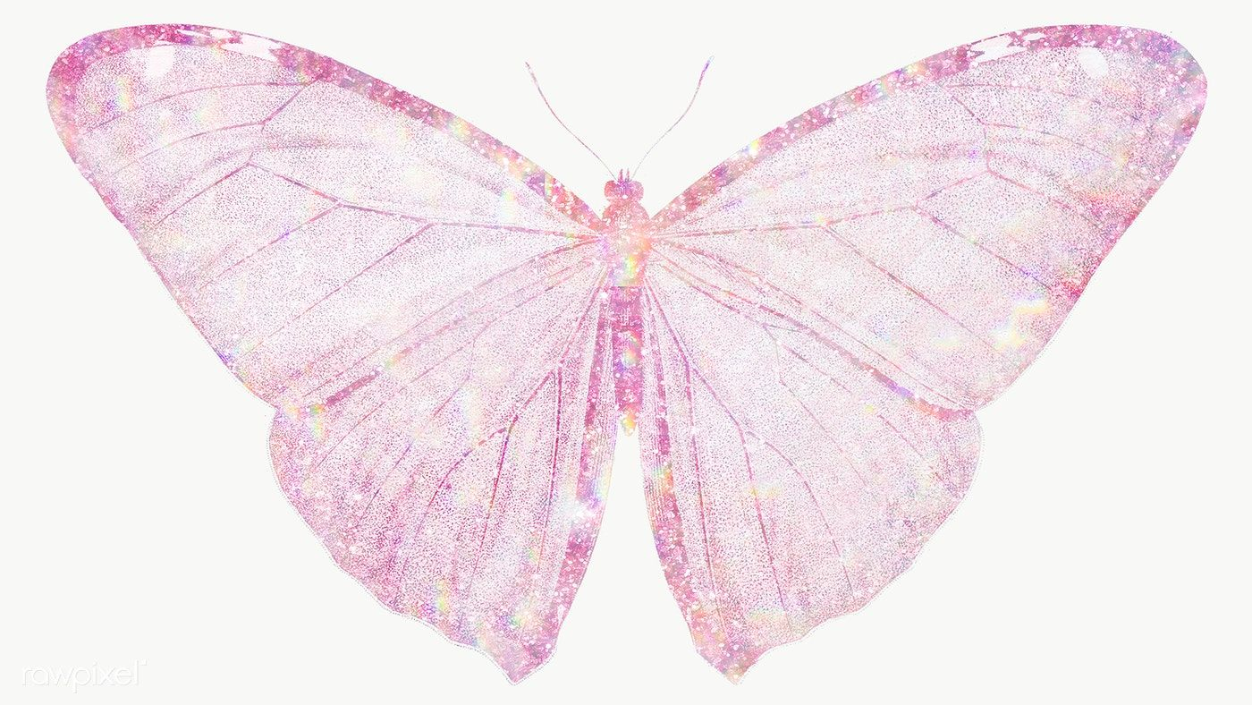 Pink Holographic Butterfly Design Element Free Image By Rawpixel Com Adj Butterfly Images Butterfly Design Butterfly