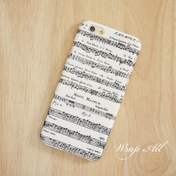 reputable site 2b568 a1760 Music Notes iPhone 6 case / iPhone 6 Plus case / iPhone by WrapAll ...