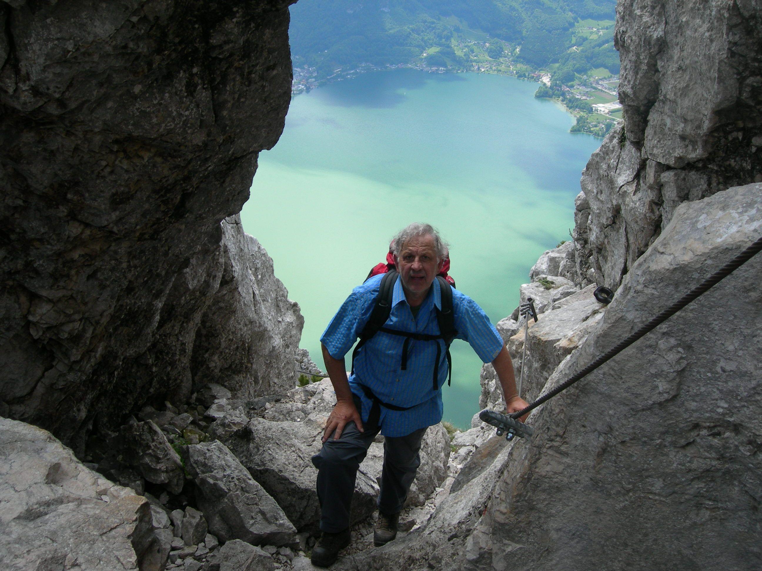 Klettersteig Traunstein : Klettersteig: naturfreundesteig in Österreich oberösterreich im