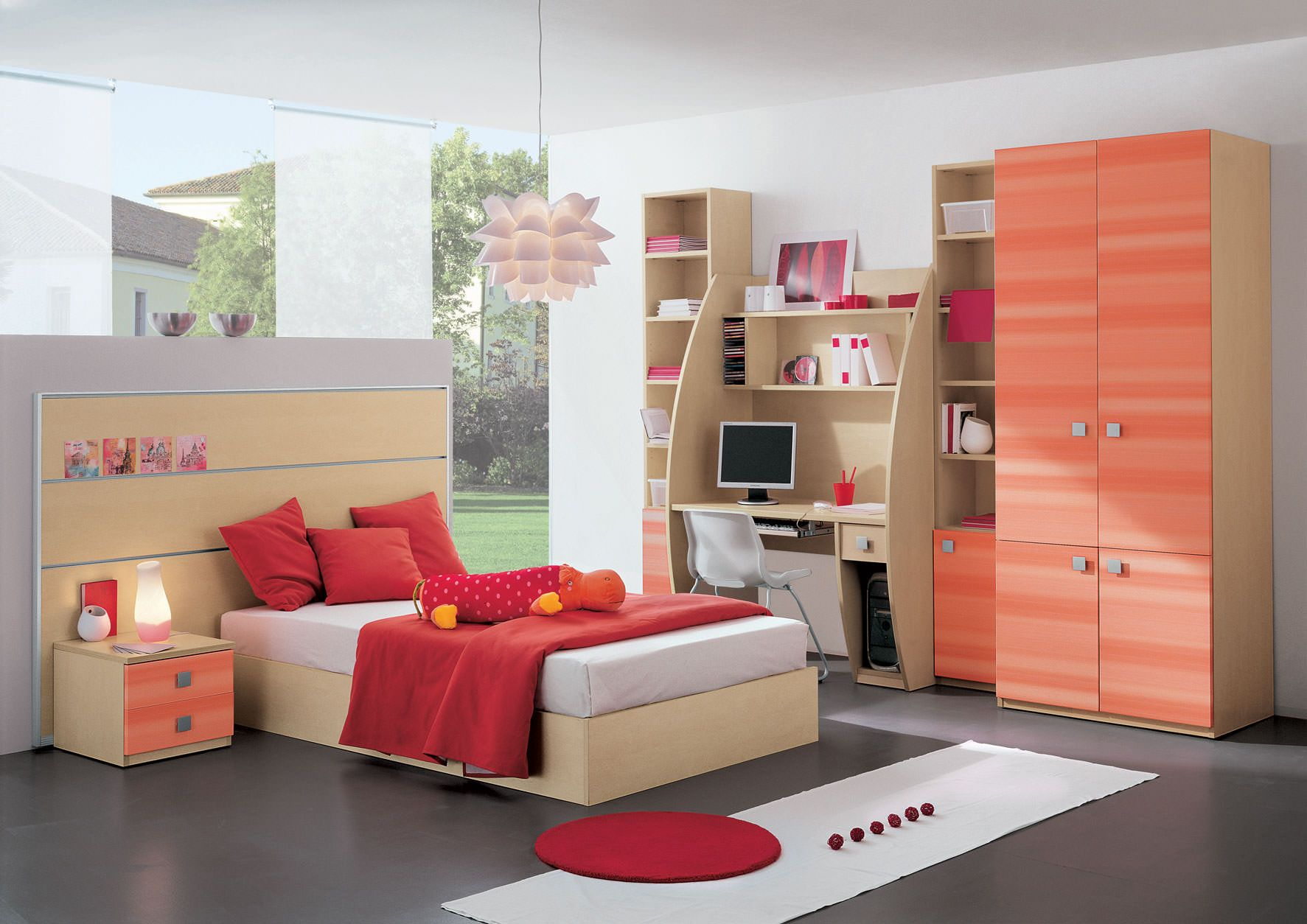 Kid Bedroom Furniture Model Not Too Childish