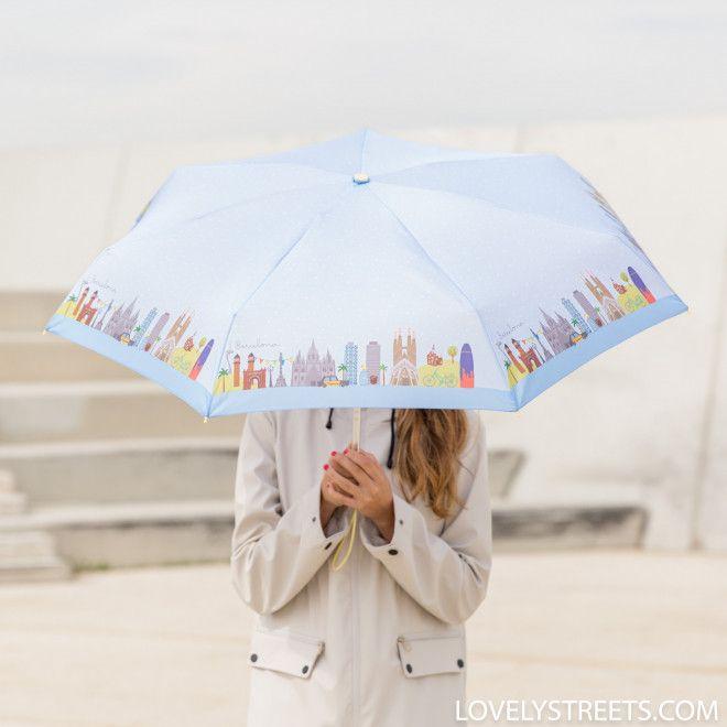 Small umbrella Lovely Streets - Barcelona