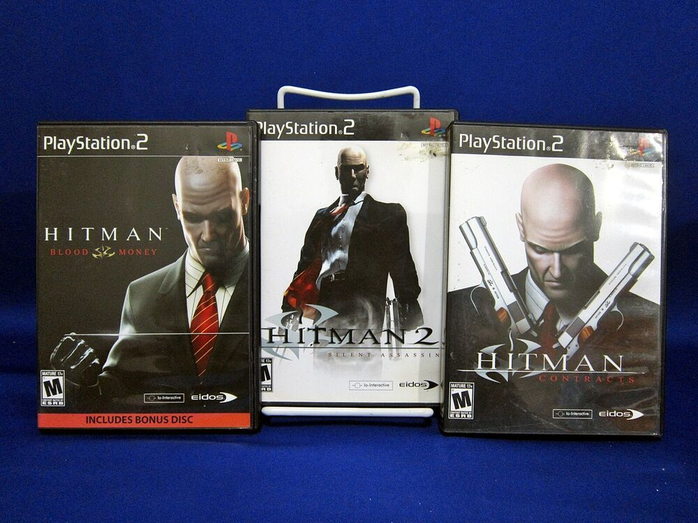Ps2 Hitman Trilogy Hitman 2 Silent Assassin Contracts Blood