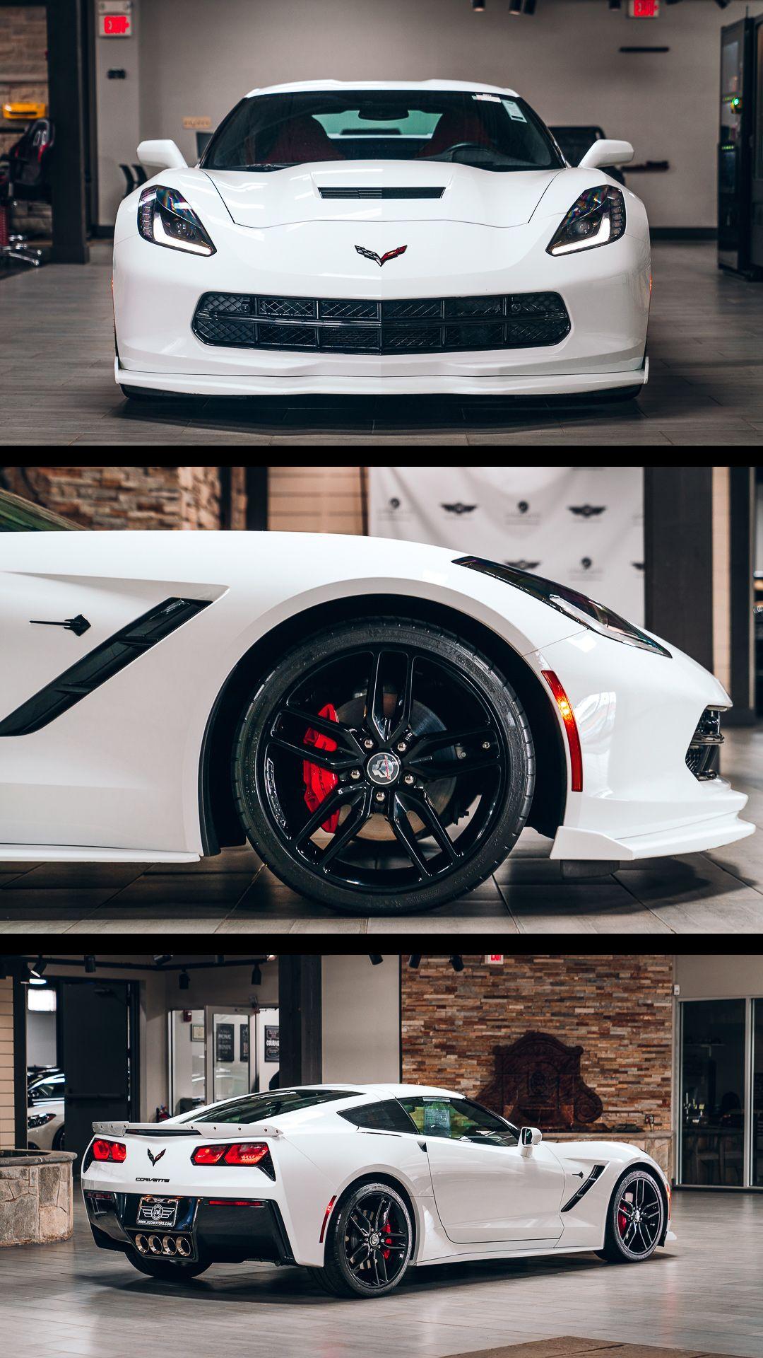 2016 Chevrolet Corvette Stingray 2lt With Only 11k Miles Carbon