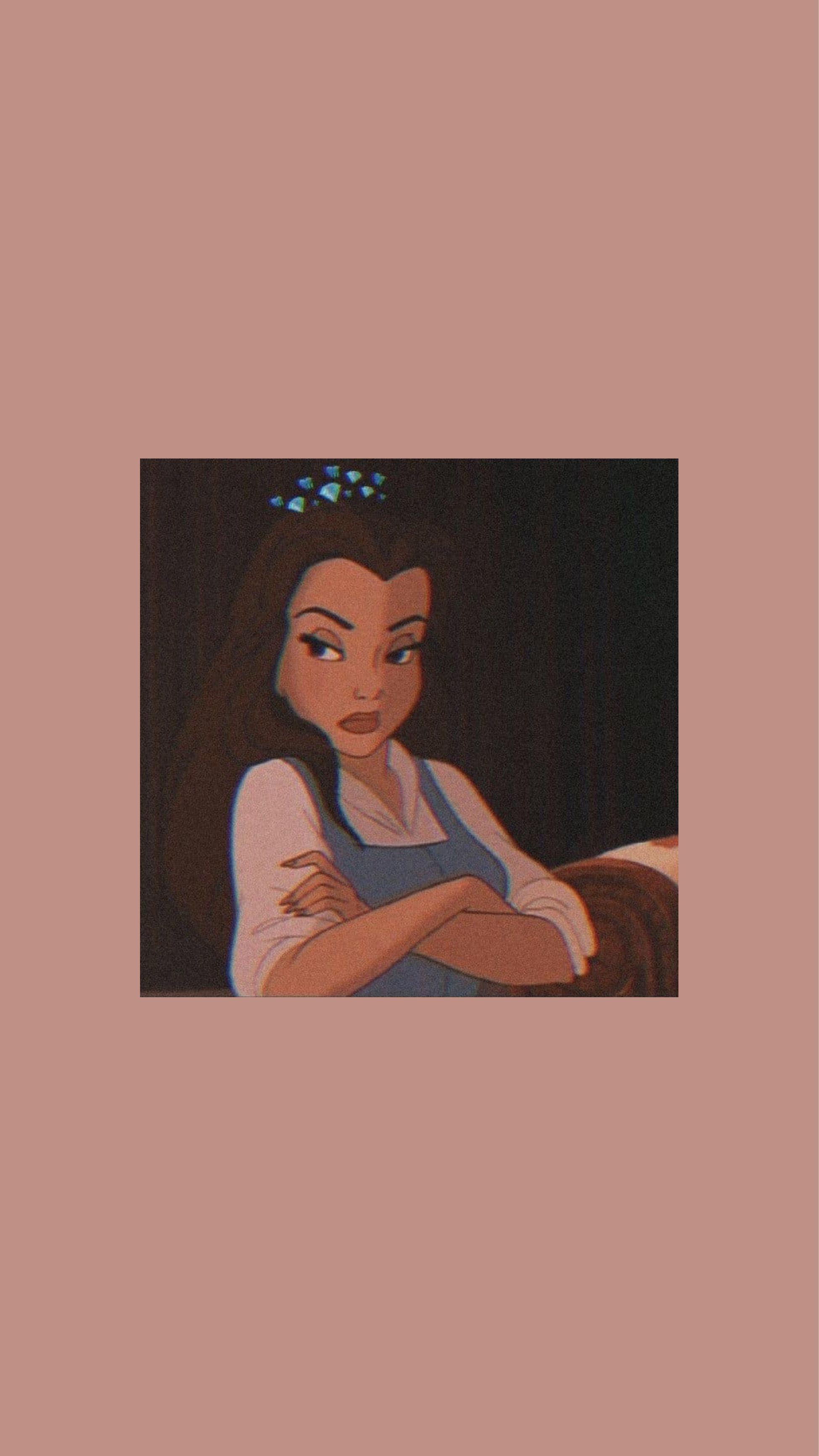 Belle taustakuva #lockscreeniphone Sassy Disney Belle Kaunotar ja hirviö taustakuva iphone