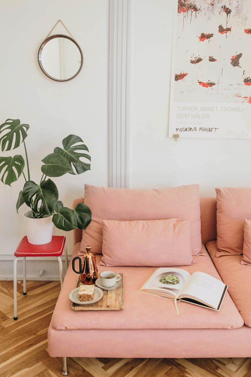 4 Ikea Sofa Hacks That Ll Convince You To Reupholster Pink