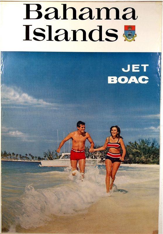 Bahama Islands - BOAC 1970s