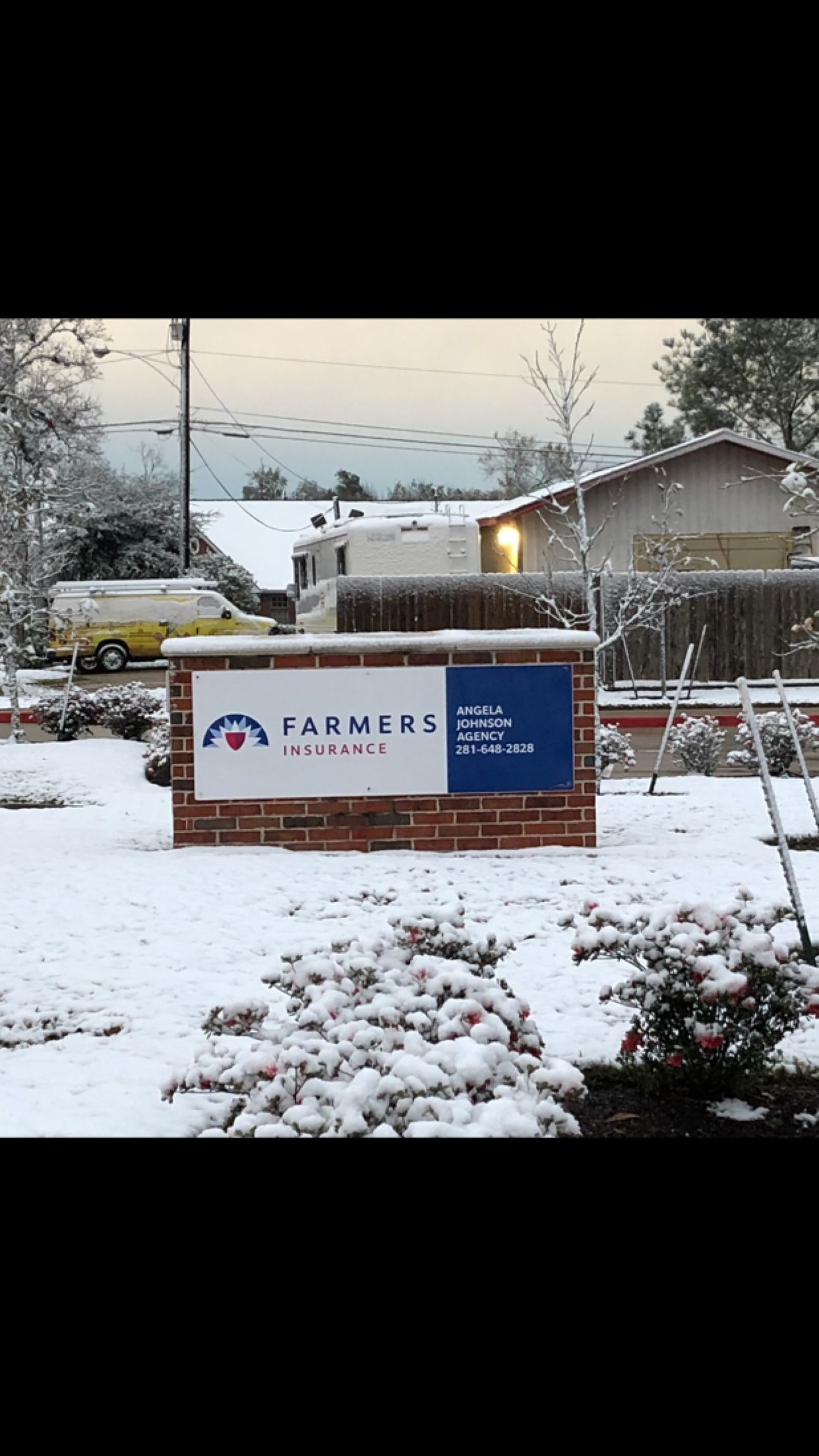 Snow In Friendswood Insurance Agency Outdoor Insurance