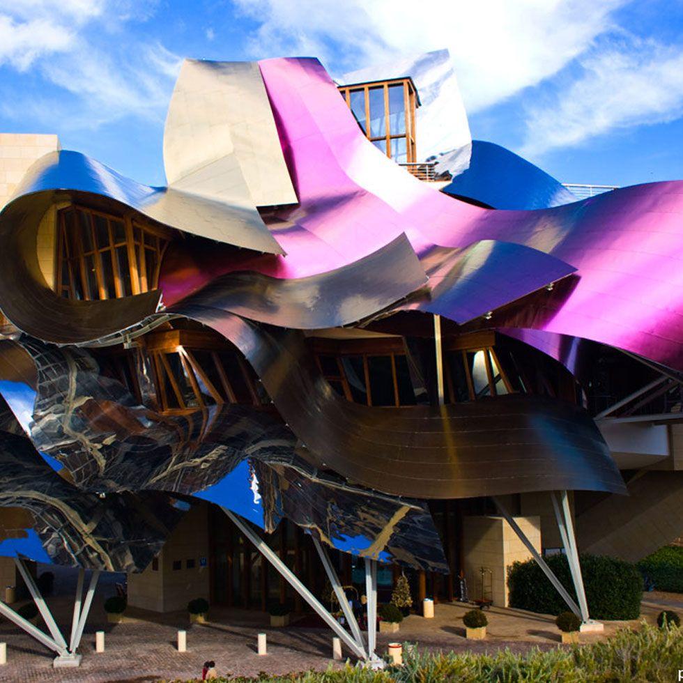 Marques de riscal el ciego la rioja wine tourism in - Arquitecto bodegas marques de riscal ...