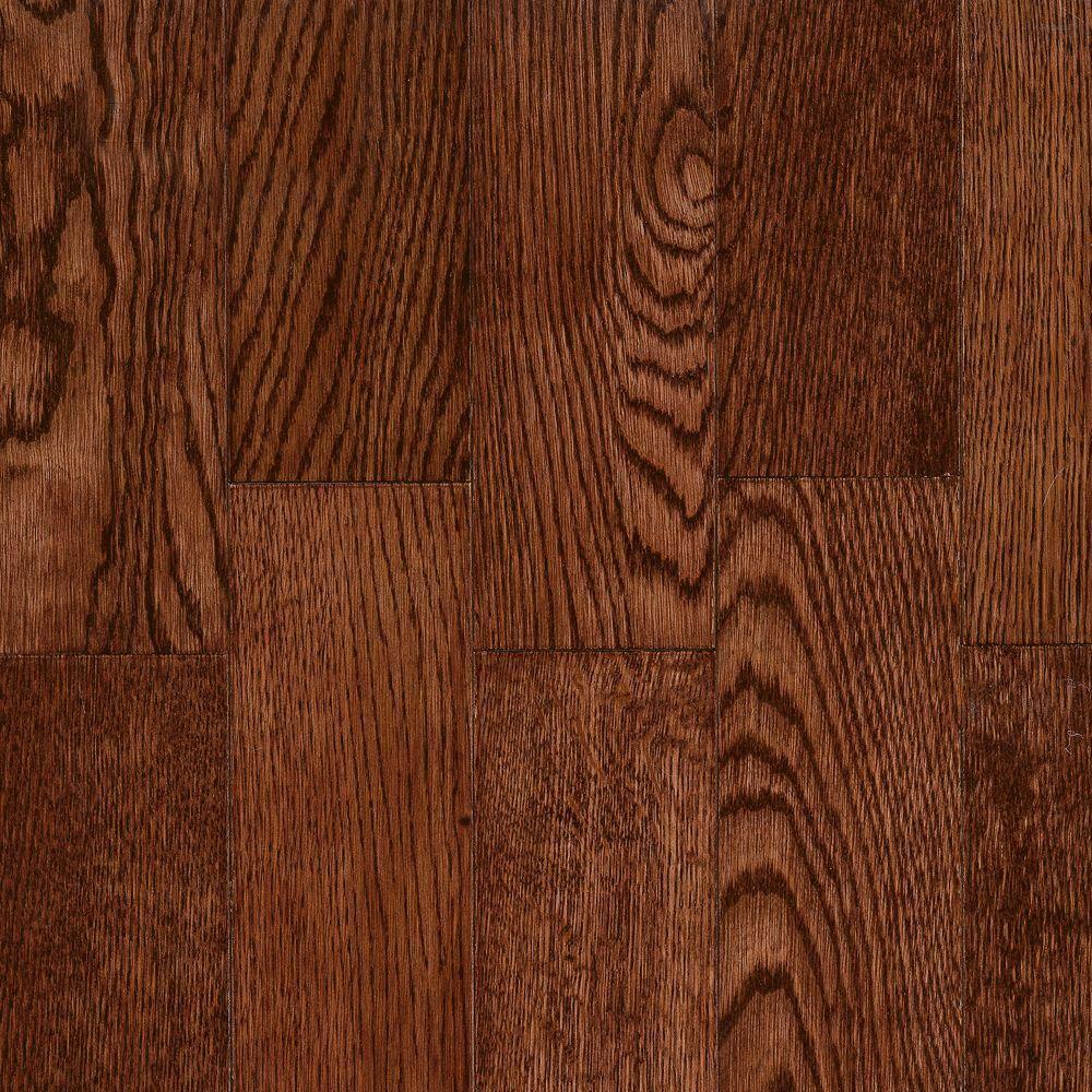 Bordeaux Red Oak Solid Hardwood Flooring 5 In X 7 In Take Home Sample Solid Hardwood Floors Hardwood Floors Solid Hardwood