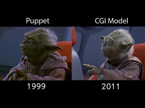 All Yoda Scenes Comparison The Phantom Menace 1080p Hd Star Wars Yoda Yoda The Phantom Menace