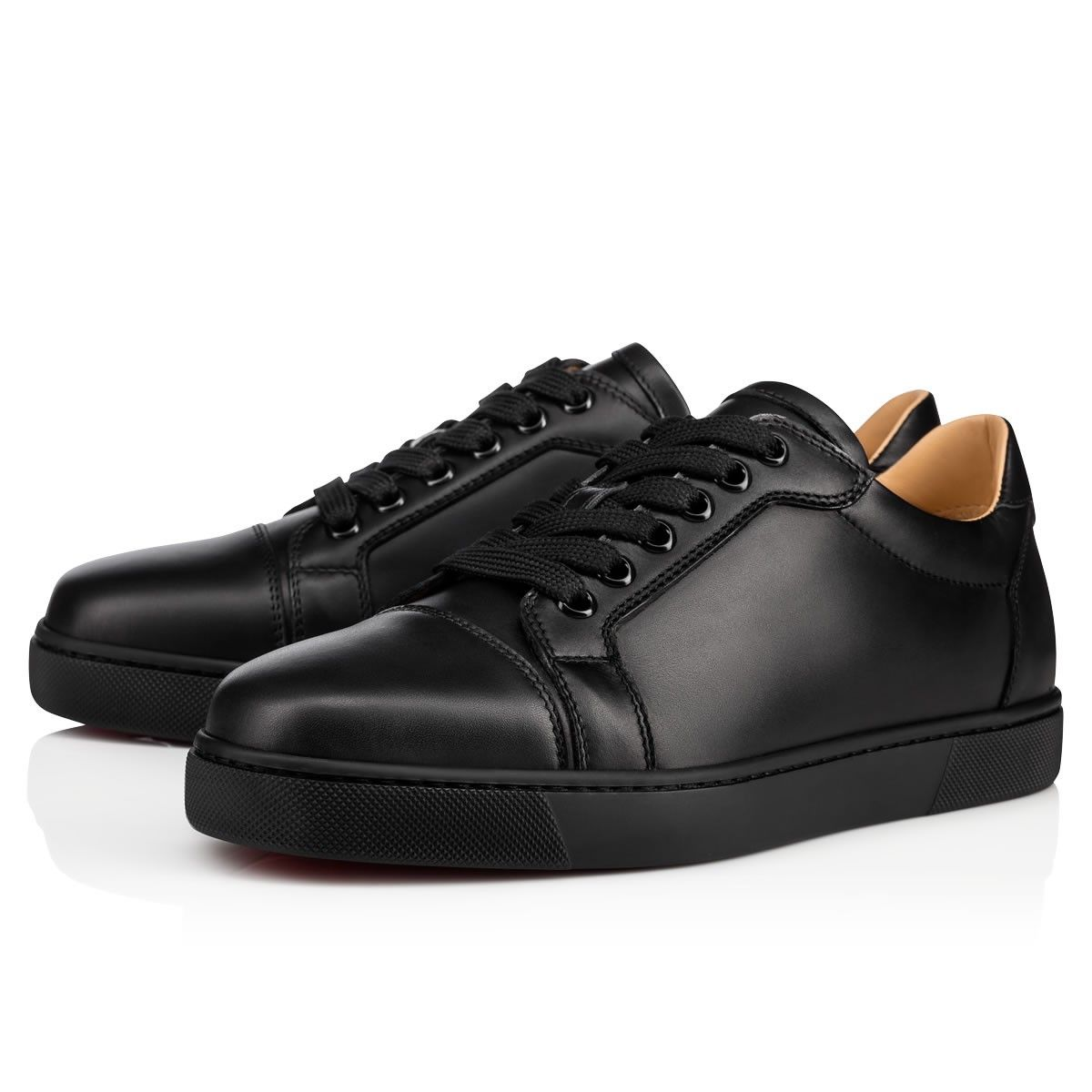5a62ea33c2fd5 Christian Louboutin United States Official Online Boutique - Vieira Flat  Black/Bk Leather available online. Discover more Women Shoes by Christian  Louboutin