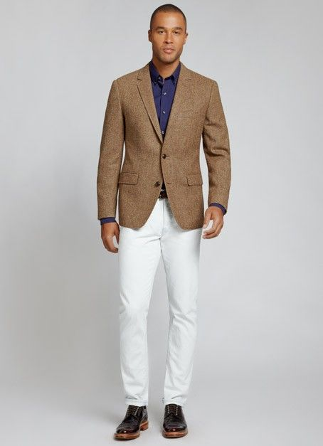 The Nottingham Blazer - Brown Herringbone | Bonobos Brown ...