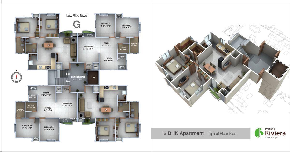 Image Result For High Rise Residential Floor Plan Nsk