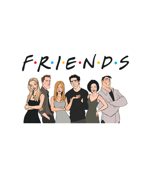 Friends Tv Show T Shirt Unisex For Men Women Size s,m,l,xl,2xl,3xl