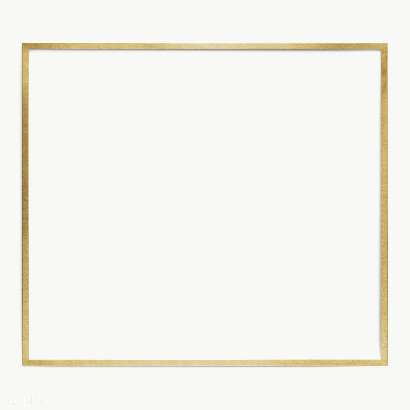 Download Premium Png Of Gold Square Frame Design Element 2349894 Frame Design Frame Square Frames