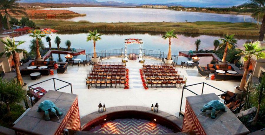 Destination Las Vegas for your wedding? The Westin at Lake