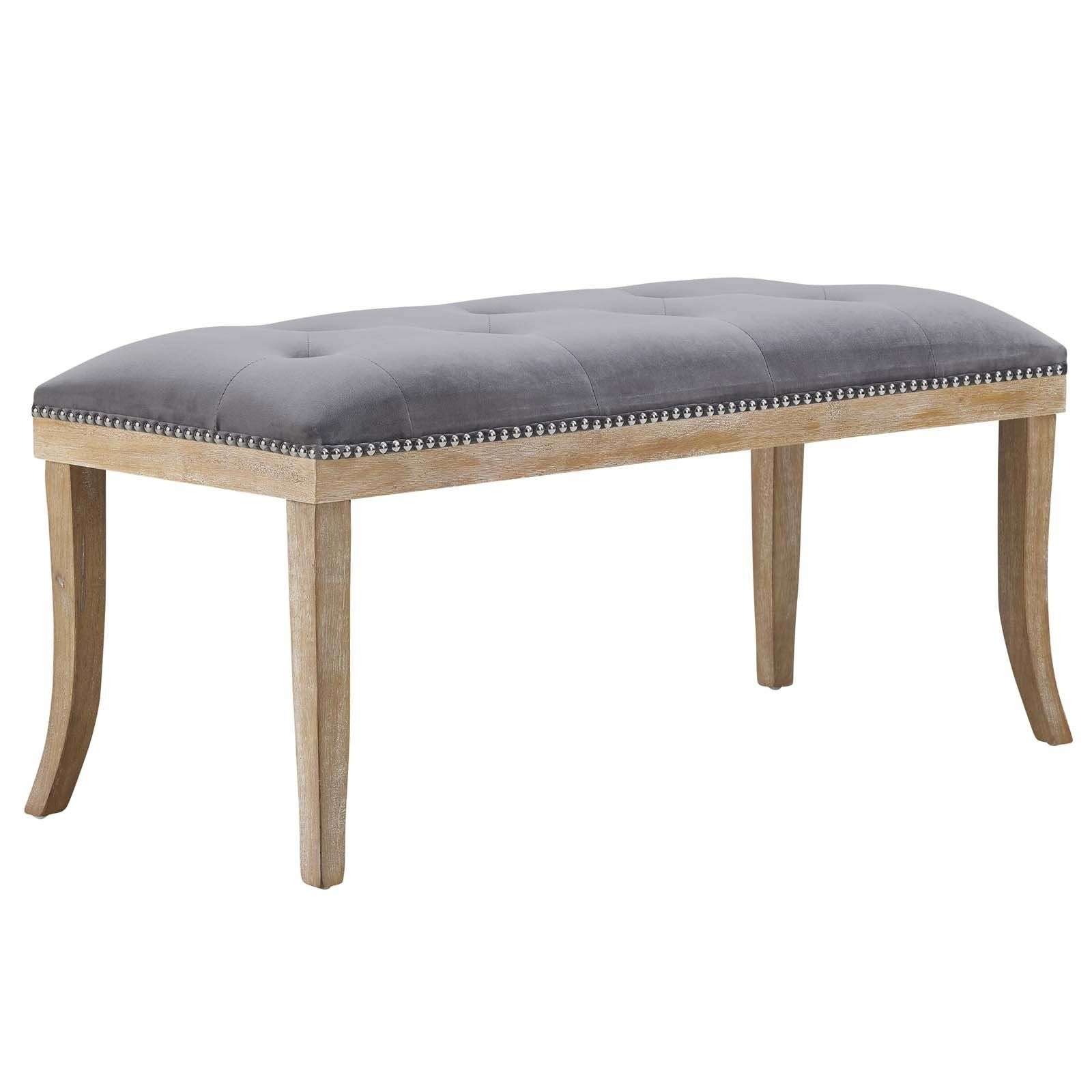 Regal Vintage French Upholstered Fabric Bench Edlyn Upholstered Fabric Bench In 2019 Kitchen Ideas