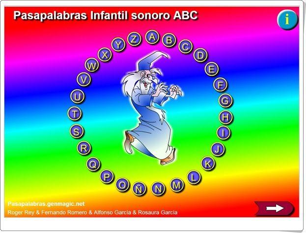 Resultado de imagen de pasapalabra ABC PARA NIÃ'OS DE INFANTIL