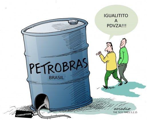 Corrupción petrolera.