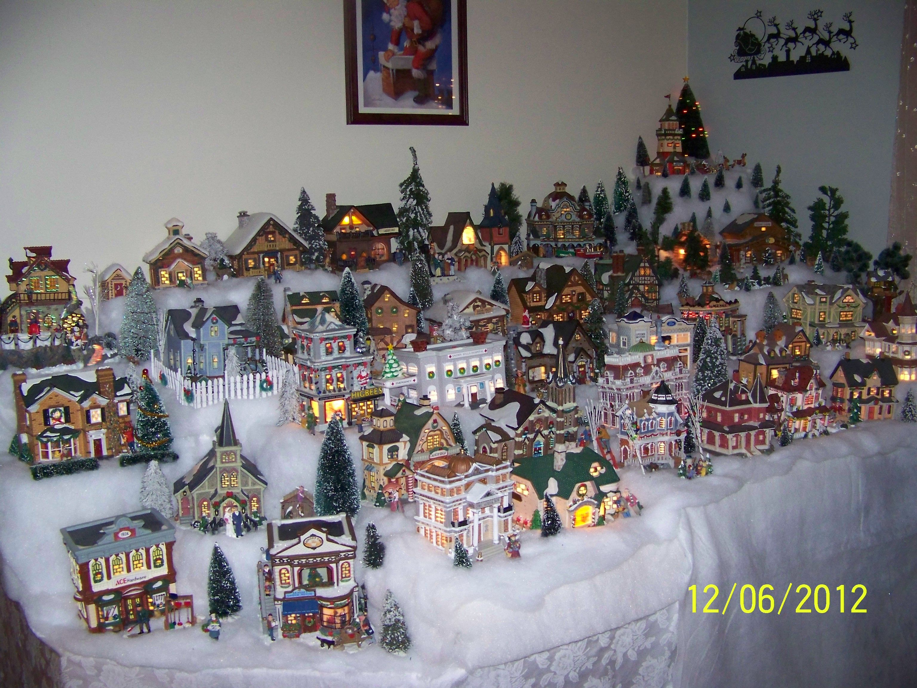 My Christmas Village Ideas Pinterest