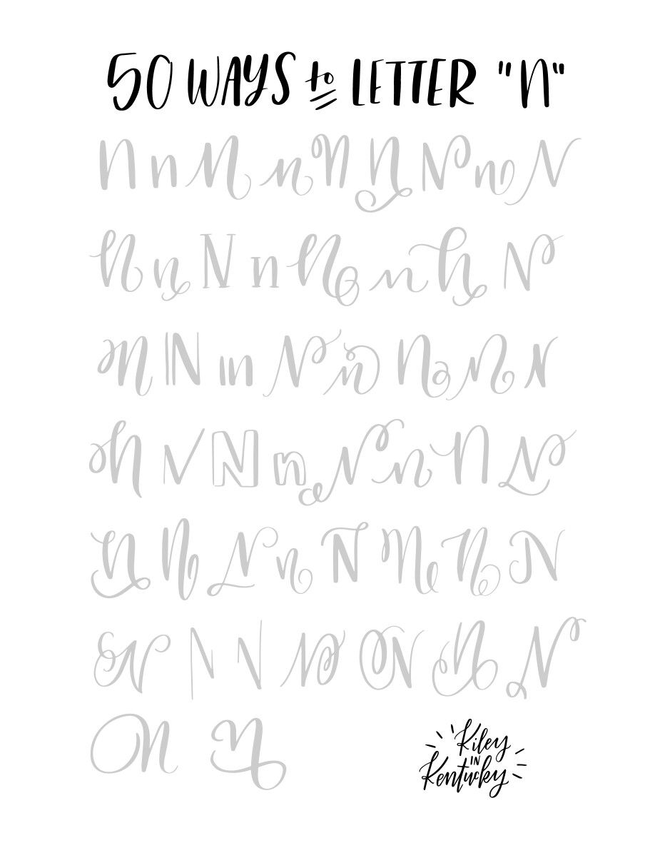 Ways To Letter  Q  Handwriting    Th
