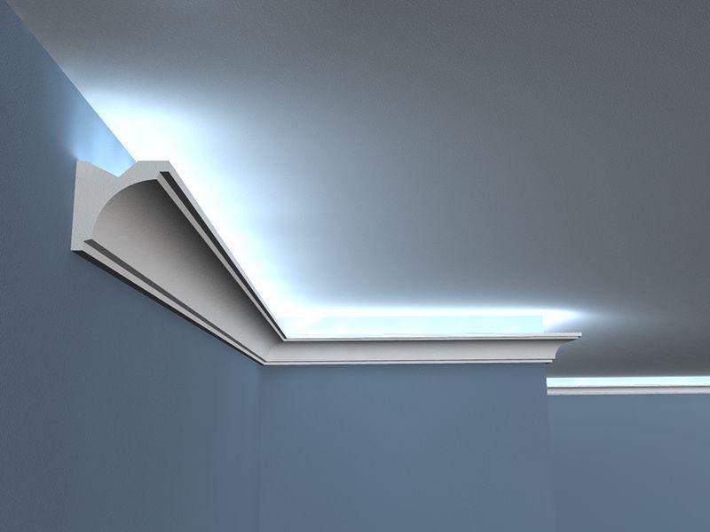 Deckenabschlussleiste Led Lo 20a Lichtleiste Beleuchtung Fur Zuhause Stuckleisten Led
