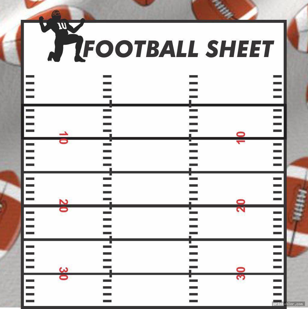 Printable Blank Football Playbook Sheets Printabler Com Flag Football Plays Football Flag Football
