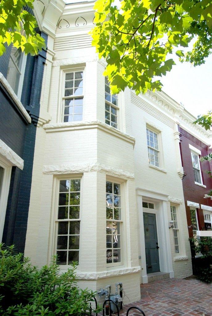 FARROW & BALL House paint exterior, White exterior paint