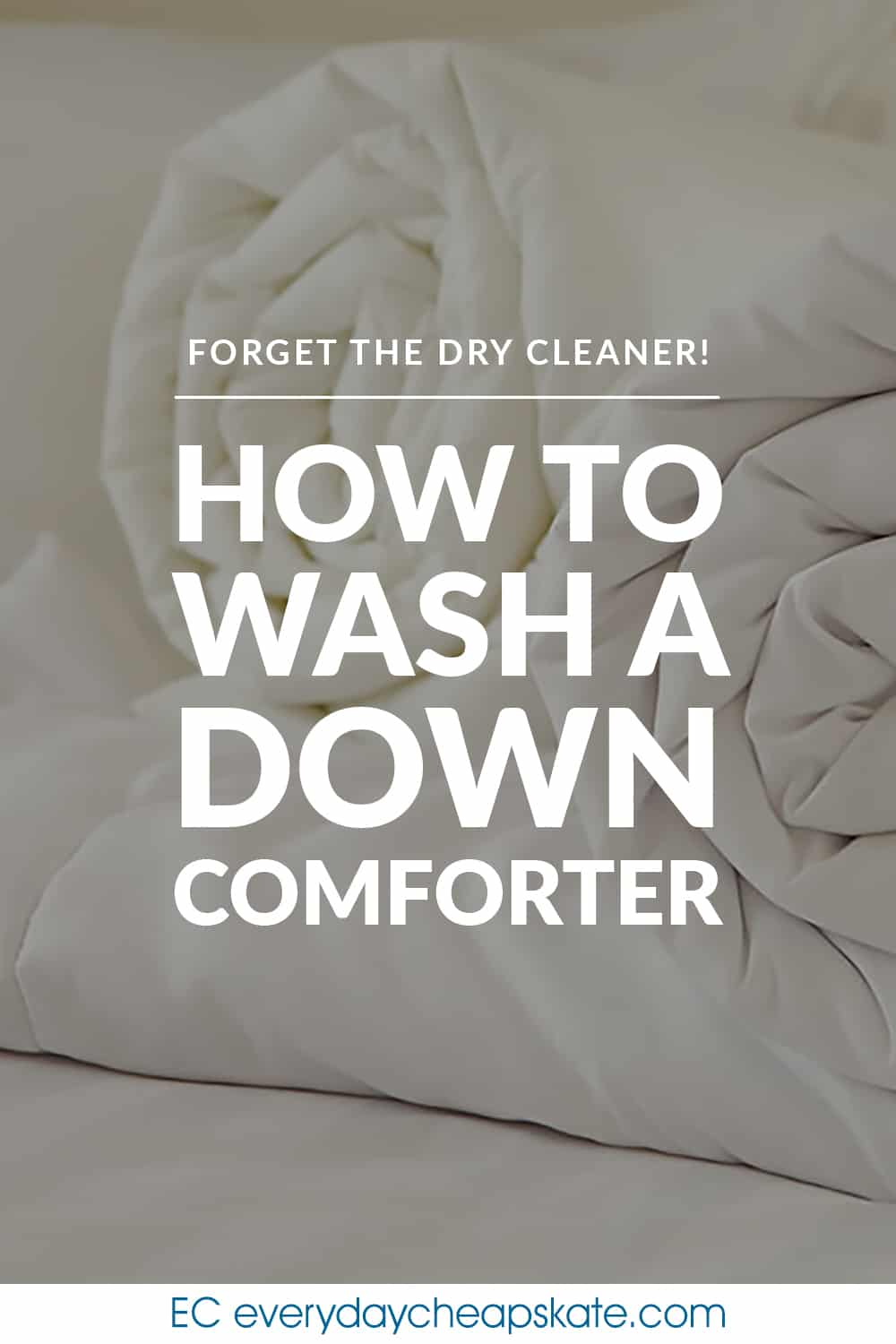 If You Ve Ever Wondered If It S Okay To Wash Your Down Comforter Instead Of Taking It To The Dry Cleaner Th Washing Down Comforter Down Comforter Dry Cleaners