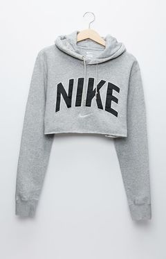 classic shoes 50% price reputable site Retro Gold Nike Gray Pullover Hoodie at PacSun.com | Mode ...