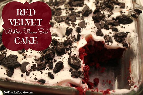 Red Velvet Better Than Sex Cake. You won't be able to stop eating this.