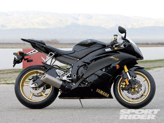 Yamaha R6 Black And Gold Swag