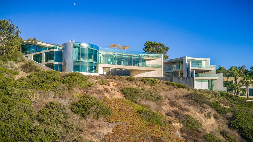 In Pictures The Razor House In La Jolla California Mansions