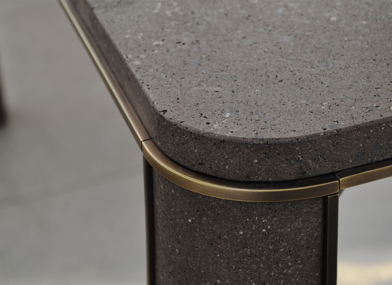 Tavolino lack ~ Detail of gregorio black table by mg tavolo stone