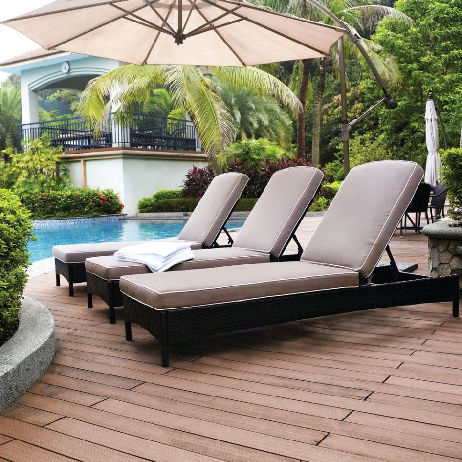 Patio Amp Outdoor Black Outdoor Chaise Lounge Resin Wicker