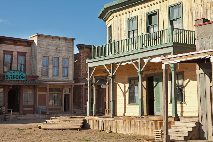 new mexico western movie sets old western street scene