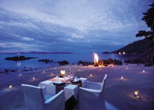 I love this beach setup!  @Mandy Bryant Dewey SEASONS KOH SAMUI    Thailand