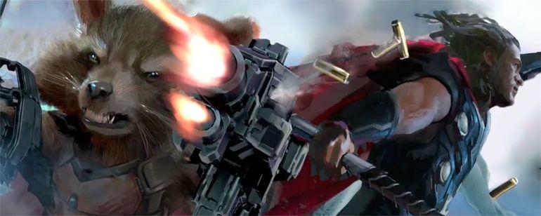 'Vengadores: Infinity War': el Mjölnir de Thor podría ser la Gema del Alma podría cumplirse la teoría T.H.A.N.O.S.  Noticias de interés sobre cine y series. Estrenos trailers curiosidades adelantos Toda la información en la página web.
