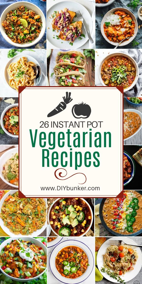 26 Instant Pot Vegetarian Recipes images