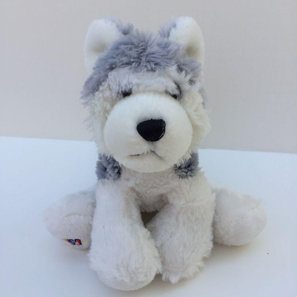 Ganz Webkinz Husky Dog Plush Stuffed Animal Toy No Code Hm120 8