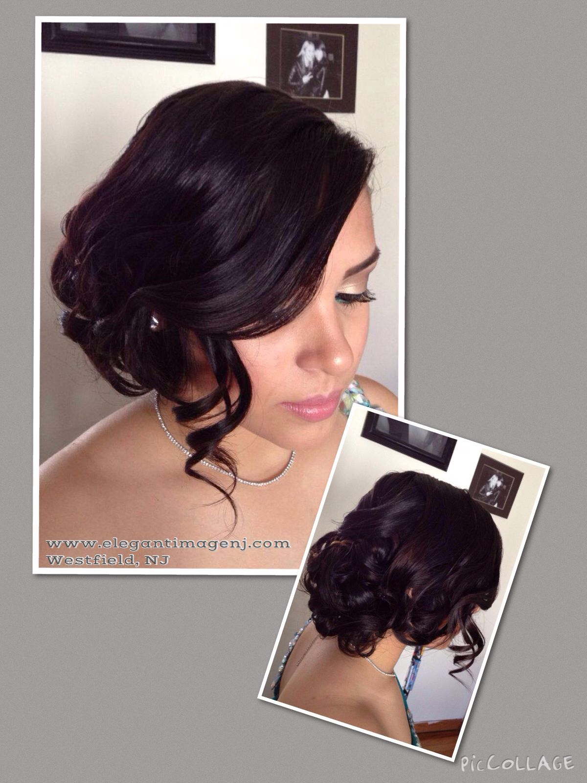 Prom updo curls formal style beautiful hair by me pinterest