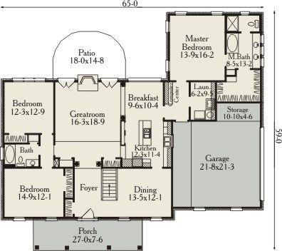 8c6e70ae7a15f828381af178d7d2714b clayton plan 3502 3 bedrooms and 2 baths the house designers,Clayton Modular Homes Floor Plans